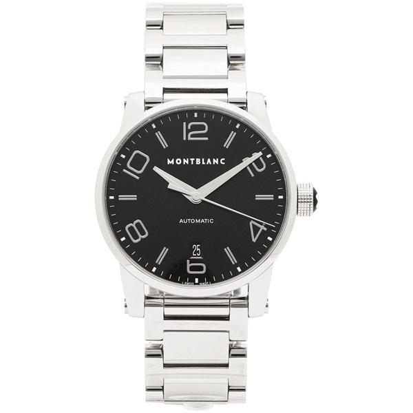 e9496d16d256 LOHACO - モンブラン 腕時計 メンズ MONTBLANC 105962 ブラック シルバー ...