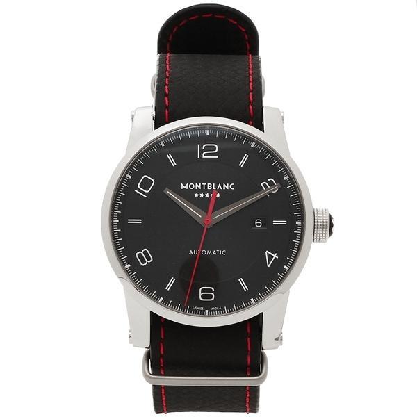 c0dd6e582ebb LOHACO - モンブラン 腕時計 メンズ MONTBLANC 115361 シルバー ブラック ...