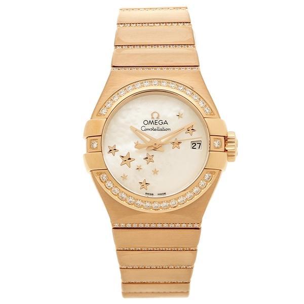 e3505d426a LOHACO - オメガ 腕時計 レディース OMEGA 123.55.27.20.05.004 ローズ ...