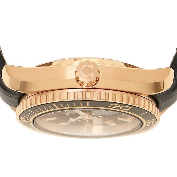 オメガ 腕時計 レディース OMEGA 232.63.42.21.01.001 ブラック ローズゴールド