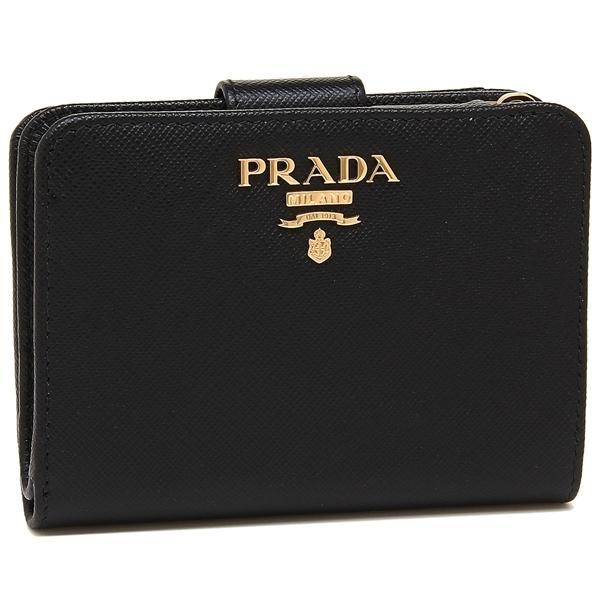 14e0a31c3cc2 LOHACO - 【P10倍】 プラダ 折財布 レディース PRADA 1ML018 QWA F0002 ...