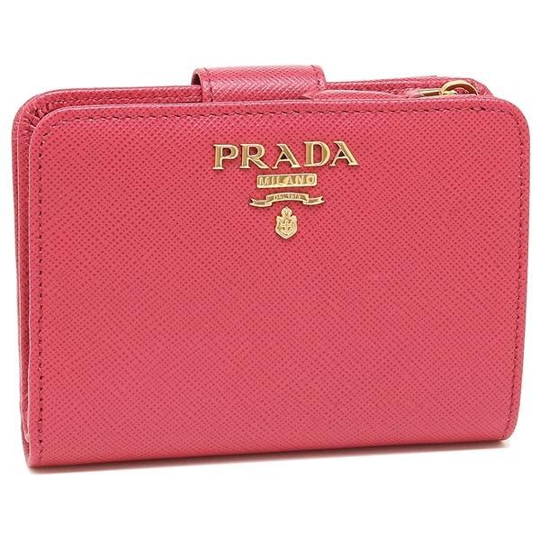 3b808d07a0db LOHACO - 【P10倍】 プラダ 折財布 レディース PRADA 1ML018 QWA F0505 ...