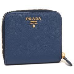 プラダ 折財布 レディース PRADA 1ML522 QWA F0016 ネイビー