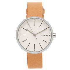 SKAGEN 腕時計 スカーゲン SKW2594 ホワイト シルバー ブラウン