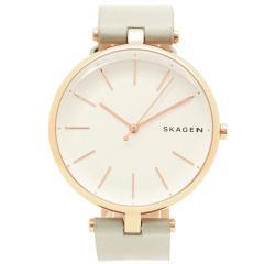 スカーゲン 腕時計 レディース SKAGEN SKW2710 シルバー ライトグレー ローズゴールド