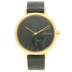 スカーゲン 腕時計 レディース SKAGEN SKW2720 グリーン イエローゴールド