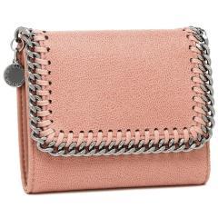 ステラマッカートニー 三つ折り財布 レディース STELLA McCARTNEY 431000 W9132 6553 ピンク シルバー