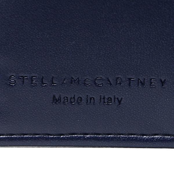 ステラマッカートニー キーケース レディース STELLA McCARTNEY 529340 W9132 4061 ネイビー シルバー
