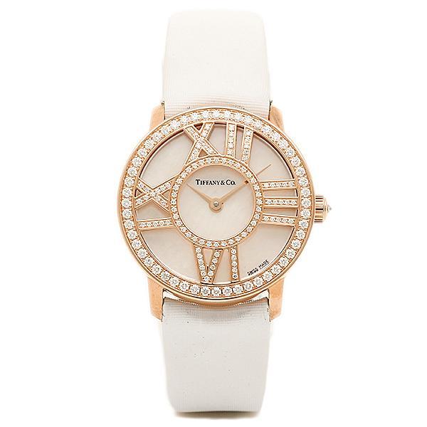 detailed look e8f59 6f5af ティファニー TIFFANY & Co 時計 腕時計 レディース TIFFANY&Co Z19001030E91A40B ATLAS COCKTAIL  ROUND 腕時計 ホワイトパール