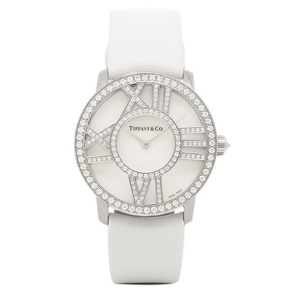 new concept c302d 7392e ティファニー TIFFANY & Co 時計 腕時計 レディース TIFFANY&Co Z19011040E91A40B ATLAS COCKTAIL  ROUND 腕時計 ホワイトパール