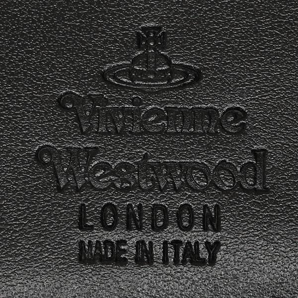 ヴィヴィアンウエストウッド 折財布 レディース VIVIENNE WESTWOOD 51010018 40153 N460 ブラック
