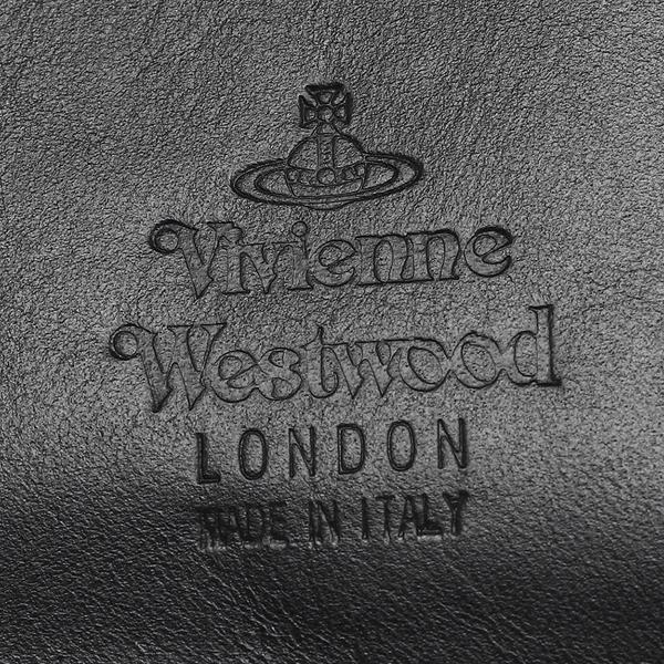 ヴィヴィアンウエストウッド 長財布 メンズ VIVIENNE WESTWOOD 51040010 40317 N401 ブラック