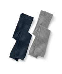 洋服と合わせやすいシンプルレギンス2枚セット  80~90