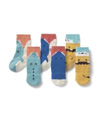 かぶりつき靴下3柄セット(クルー丈)  12~15