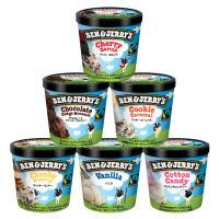 ベン&ジェリーズ アイスクリーム ギフトセット【人工着色料、香料不使用】 (人気セレクション 6個セット)【MPCP_FD】