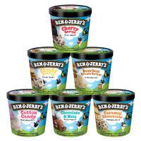 ベン&ジェリーズ アイスクリーム ギフトセット【人工着色料、香料不使用】 (チャンキーセレクション 6個セット)【MPCP_FD】