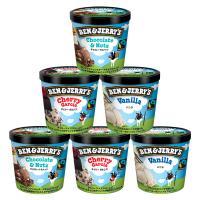 ベン&ジェリーズ アイスクリーム ギフトセット【人工着色料、香料不使用】 (ベーシックセット 6個セット)【MPCP_FD】