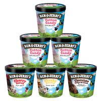 ベン&ジェリーズ アイスクリーム ギフトセット【人工着色料、香料不使用】 (コットンキャンディーセット)【MPCP_FD】