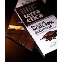 【CAFE MICHEL】ブラックチョコレート グランクリュ 98% (Ecuador chocolate 98% 100g)