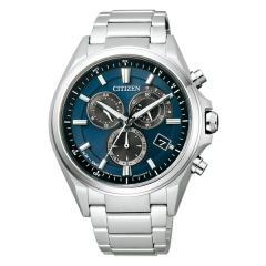 送料無料 シチズン アテッサ ATTESA 電波ソーラー 腕時計 メンズ AT3050-51L 65,0