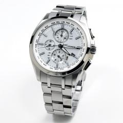 送料無料 シチズン アテッサ ATTESA 電波ソーラー 腕時計 メンズ AT8040-57A 100,0