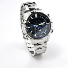 送料無料 カシオ メンズ エディフィス ソーラー 腕時計 CASIO EDIFICE ECB-800D-1AJF