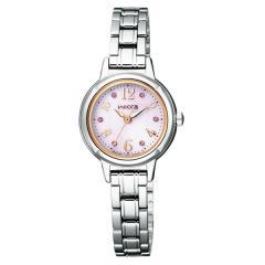 送料無料 シチズン ウィッカ ソーラー 腕時計 レディース KH9-914-93