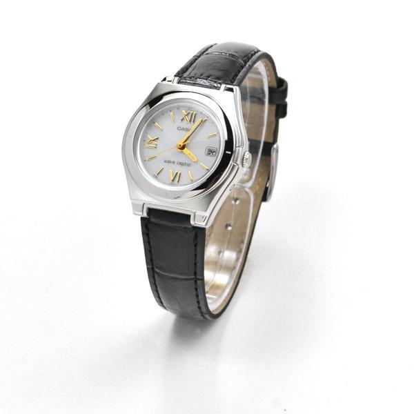 703c5da069f53d カシオ ウェーブセプター 電波ソーラー レザーバンド 腕時計 LWQ-10LJ-1A1JF
