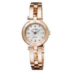 シチズン ウィッカ ソーラー 腕時計 レディース NA15-1573C 24,0
