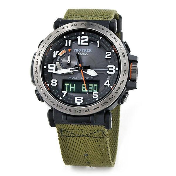 57b85caeac 送料無料 カシオ プロトレック ソーラー電波 腕時計 メンズ CASIO PROTREK PRW-6600YB-3JF