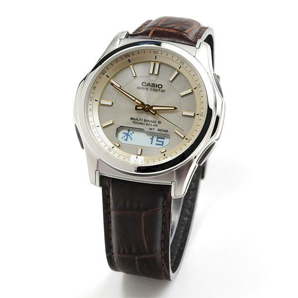 e89eacdf1b988e カシオ ウェーブセプター 電波ソーラー レザーバンド 腕時計 WVA-M630L-9AJF?【5