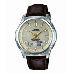 カシオ ウェーブセプター 電波ソーラー レザーバンド 腕時計 WVA-M630L-9AJF 20,0