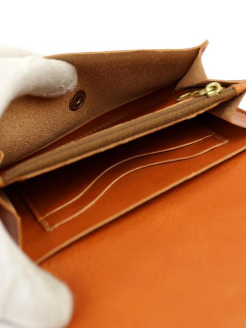 IL BISONTE イルビゾンテ レザー  二つ折り 財布 5432300240 F(フリー) ヌメ(20)