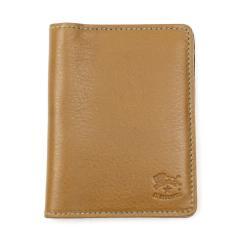 イルビゾンテ IL BISONTEレザー 2つ折り カードケース パスケース 411619 F(フリー) オレンジ(66)
