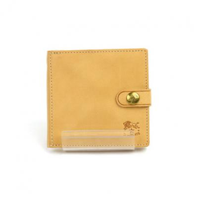 565750a99a65 イルビゾンテ IL BISONTEレザー 二つ折り ミニ財布・412228 F(フリー) ヌメ(