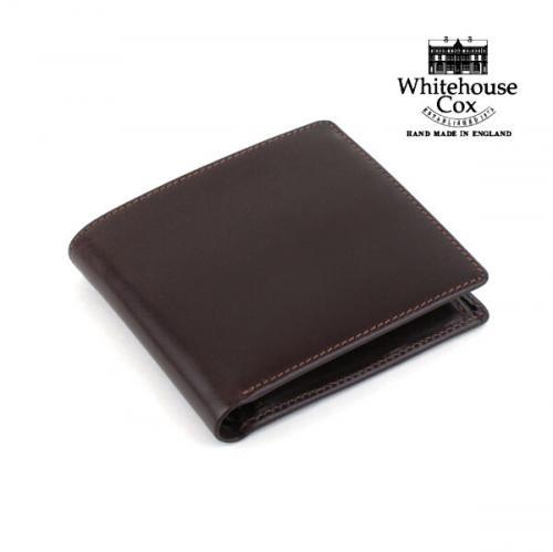 """Whitehouse Cox ホワイトハウスコックス ブライドルレザー 二つ折り財布 """"NC/COIN CASE"""" S7532 F(フリー) HAVANA(HAV)"""