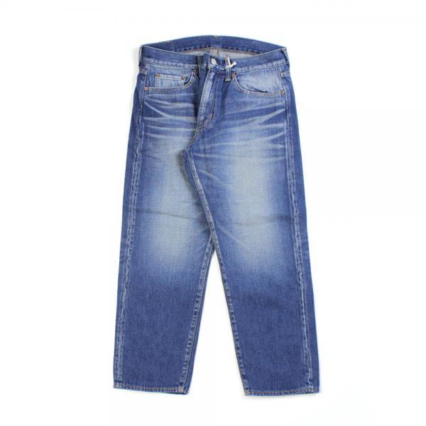 DEEP BLUE ディープブルー コットン アンクル丈 デニムパンツ 73388 L(L) ミディアムブルー(4)