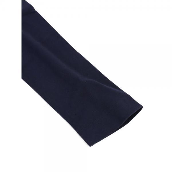 three dots スリードッツ コットン 7分袖 Uネック Tシャツ Jessica Tee AA4S-041 M(9~11号) WHITE(001)