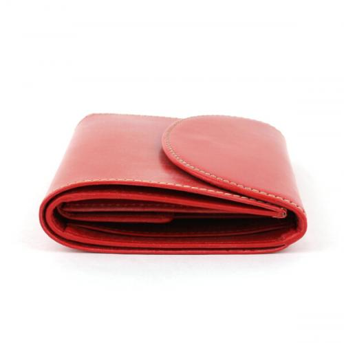 "Whitehouse Cox ホワイトハウスコックス ブライドルレザー三つ折り財布""SMALL3FOLDWALLET"" S1058 F(フリー) RED(RED)"