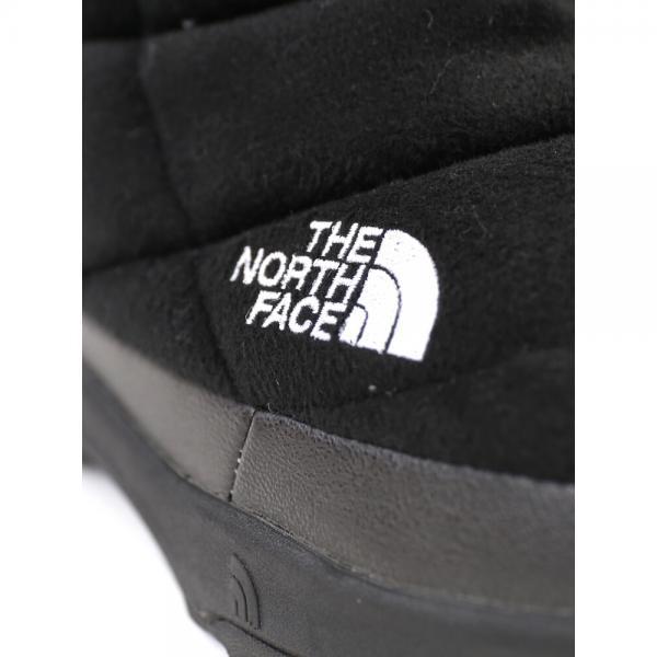 THE NORTH FACE ザ ノースフェイス ヌプシブーティー ウール3 ショート スノーブーツ NUPTSE BOOTIE WOOL3 SHORT NF51787 5(23.0cm) グレー×ブラック(GK)