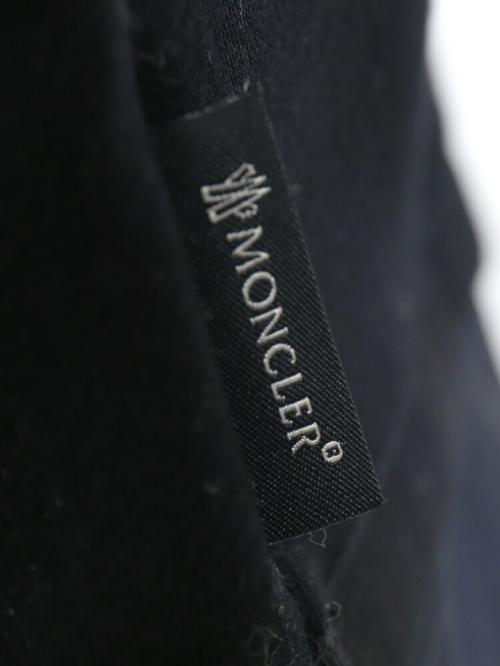 """MONCLER モンクレール レーヨン×ポリエステル 裾フレア切替 チュニック """"ABITO"""" ABITO  S(S) ブラック(999)"""