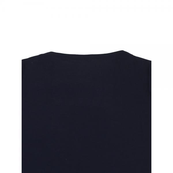 PUPULA ププラ デジタルコットンリブ ボートネック カットソー プルオーバー 571001 38(M) ホワイト(00)