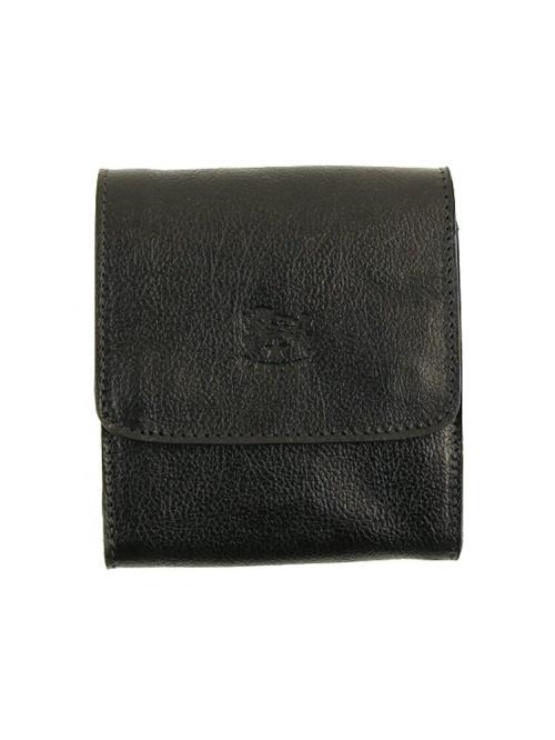 IL BISONTE イルビゾンテ レザー 二つ折り 財布 54162309440 F(フリー) ブラック(35)