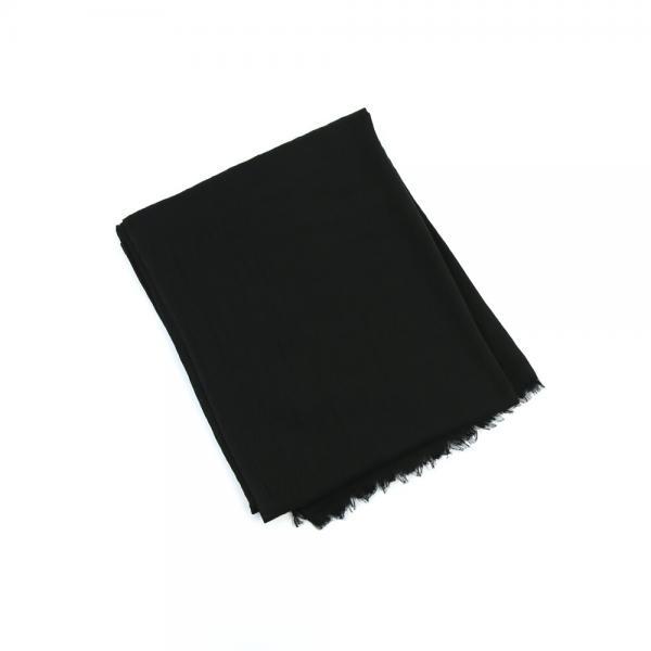 Direction to get mosh ディレクショントゥゲットモッシュ レーヨン混 フリンジ ストール GM172G08 OS(ワンサイズ) ブラック(BLK)