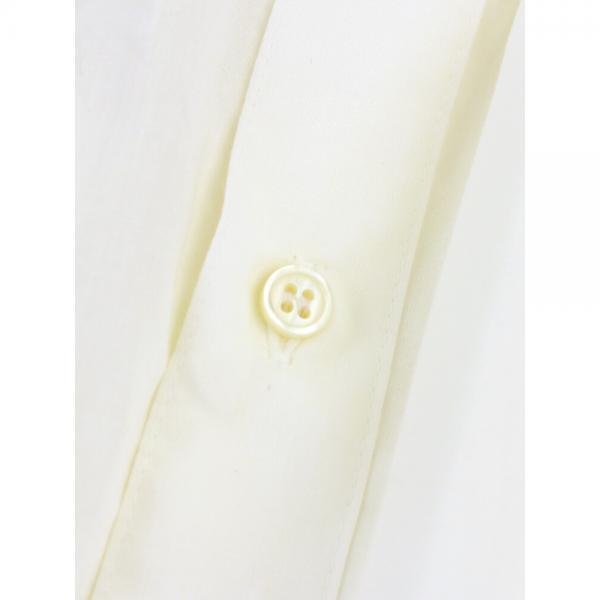 STAMP AND DIARY スタンプアンドダイアリー コットン混 ギャザー 長袖 ワイド ブラウス SD73AW22 F(フリー) ホワイト(1)