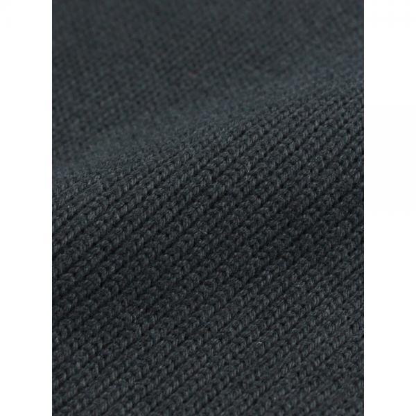 NATURAL LAUNDRY ナチュラルランドリー コットン ニット ハイウエスト シンプルパンツ 7174C-028 2(M) ブラック(990)