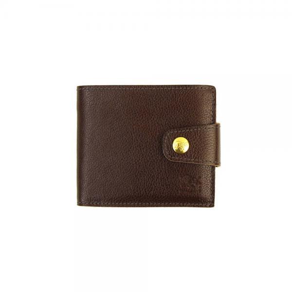 bc4d294389da IL BISONTE イルビゾンテ レザー 二つ折り 財布 ミニウォレット 54172309140 F(フリー) ダークブラウン