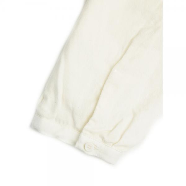 style+confort スティールエコンフォール コットンウール 長袖 ワイド Aライン カットソー プルオーバー 702-60503 2(M) white(1)