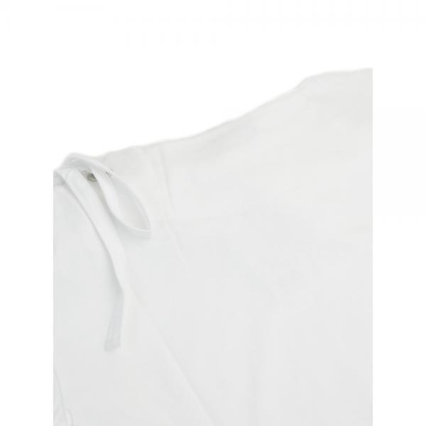 ZAMPA ザンパ サイロプレミアム天竺 ショルダーアイレット 7分袖 プルオーバー カットソー Z57494 M(9号) オフホワイト(02)