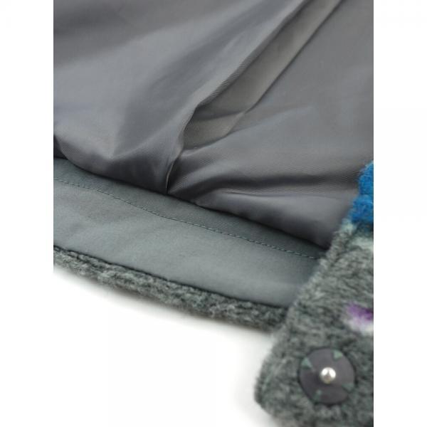 style zampa for the holidays スタイルザンパフォーザホリデイズ 立体ドビー ノーカラー ショートジャケット Z22945 M(9号) グレー(19)